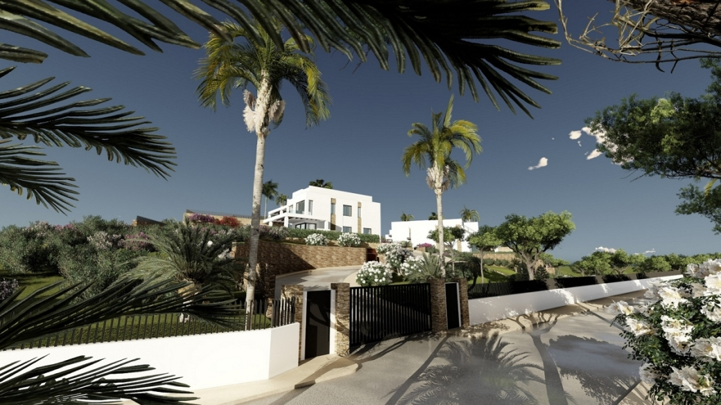 4, 5, 6 and 7 bed villas that are located on the golf course of one of the most prestigious addresses. Options for cinema room, extra bedroom or design your own pool.
